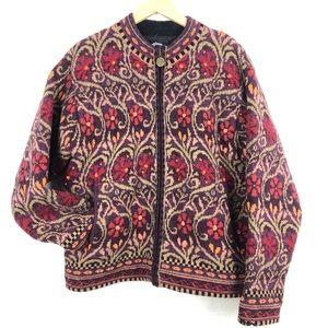 VINTAGE ICELANDIC DESIGN 90's Wool Knit Sweater